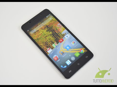 Archos 50 Oxygen Plus unboxing