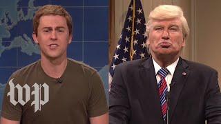 "Video ""SNL"" goes after Trump, Zuckerberg MP3, 3GP, MP4, WEBM, AVI, FLV April 2018"