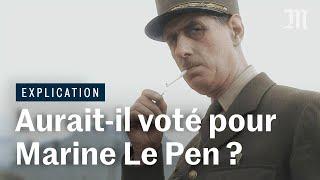 Video Marine Le Pen est-elle gaulliste ? Le regard d'un spécialiste du général de Gaulle MP3, 3GP, MP4, WEBM, AVI, FLV Mei 2017