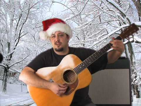 guitar lesson – how to play rudolph the red nose reindeer – learn guitar – easy guitar lesson