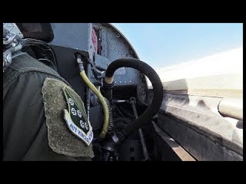 T-38 Talon Jet Cockpit and Aerial...