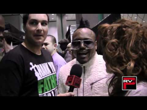 AplDAp of The Black Eyed Peas Interview At the World of Dance 2011