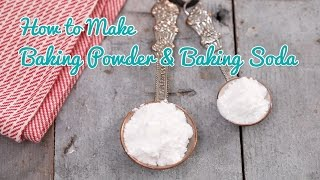 How to Make Baking Powder & Baking Soda - Gemma's Bold Baking Basics Ep 33 by Gemma's Bigger Bolder Baking