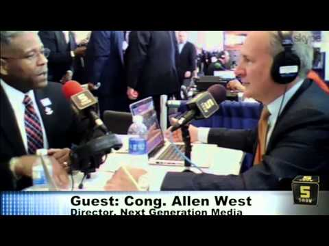 Allen West Stands With Rand at CPAC
