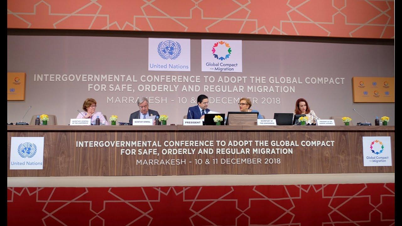 Πλατφόρμα συνεργασίας για τη μετανάστευση το Παγκόσμιο Σύμφωνο…