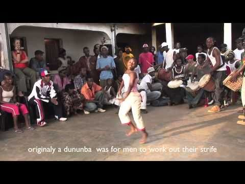 Dununba Community  African Drum and Dance Party in Conakry, Guinee, West Africa