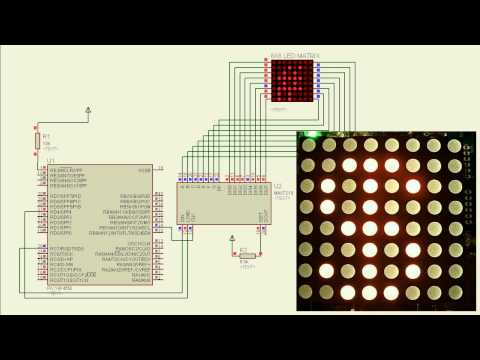 LED Driver interfacing to PIC Microcontroller