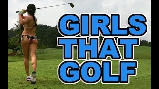 Girl Golf Swings to get you through the week