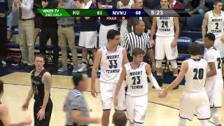 Jared Ronai Postgame Interview (Huntington University (2-13-15)