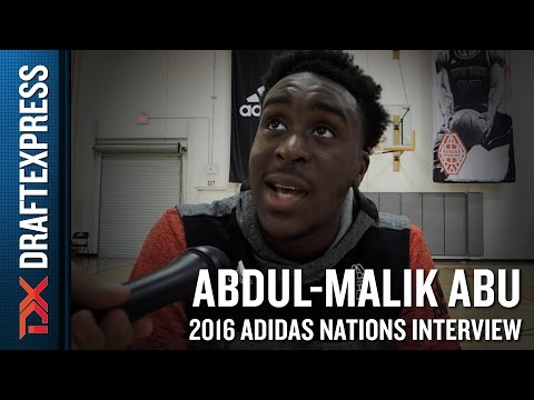 Abdul-Malik Abu Interview from 2016 Adidas Nations