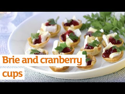 SAVE – Brie & Cranberry Cups – Christmas Days at Sainsbury's