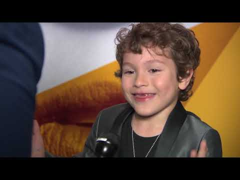 Adorable Child Actor Joshua Satine talks about A Simple Favor