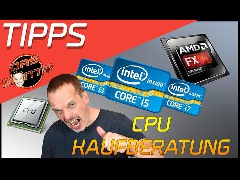 CPU Prozessor Kaufberatung/Empfehlung 2017 - Intel VS AMD - Das Monty - Deutsch