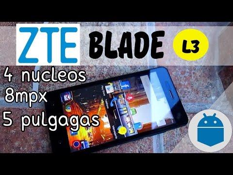 Review de ZTE Blade L3//Mi Android