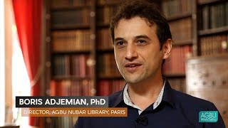 Dr. Boris Adjemian: The AGBU Nubar Library Holdings