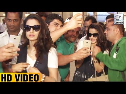 Ameesha Patel Harassed By Fans For A Selfie