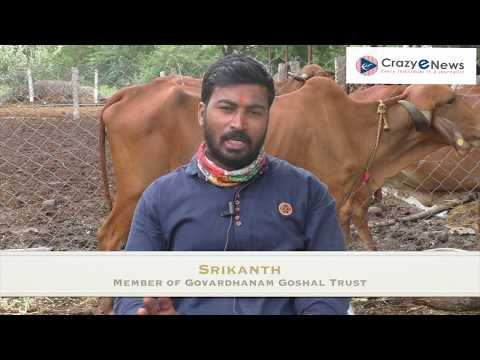 Srikanth Member of Govardhanam Goshala Trust