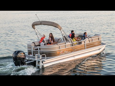 SUN TRACKER Boats: PARTY BARGE 22 DLX Recreational Pontoon