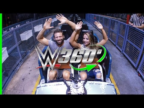 Video Scream along in 360° with Zack Ryder and Emma on Mr. Freeze: Reverse Blast at Six Flags over Texas! download in MP3, 3GP, MP4, WEBM, AVI, FLV January 2017