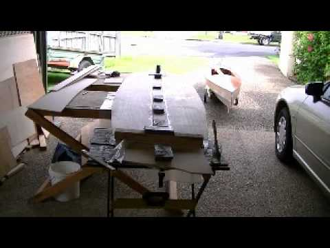 Home Built Stand up Paddle Board Kit