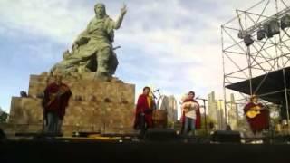 "Inauguración Monumento a Juana Azurduy - Grupo Samayllajta - ""Karallanta"""