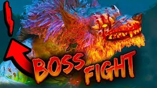 """How To Do BOSS FIGHT (( ROUND 1 )) """"Dead of The Night""""  DLC 1 BO4 Zombies"""