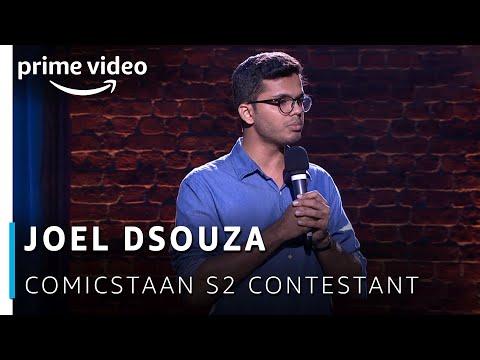 Joel Dsouza - Comicstaan Season 2 Contestant   New Amazon Original 2019