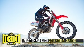 2. First Impression: 2019 Honda CRF450X