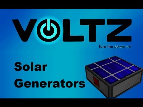 Voltz Pack: [Tutorial] Solar Generators