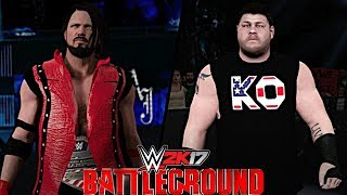 After AJ Styles defeated Kevin Owens at WWE MSG Live to win the United States Title, Owens will now challenge Styles at WWE Battleground 2017 for the United States Championship!Show some love by leaving a like, sharing and subscribing for more awesome videos like these!OUTRO MUSIC: Undertaker's Rollin Theme Cover by JAYDEGARROWJAYDEGARROW's YouTube: https://www.youtube.com/channel/UCit4zHRRYaU5Og8ZHqvA7jQFOLLOW ME HERE:Facebook: https://www.facebook.com/julian.rosado.14Twitter: https://twitter.com/Jules1451Instagram: https://www.instagram.com/jules1451/Snapchat: @Jules1451Want to see more WWE 2K16 & WWE 2K17 Content? Visit this link for more! http://www.thesmackdownhotel.com