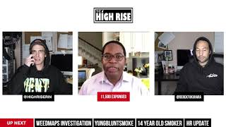 THE FEDS CLOSE IN ON WEEDMAPS, HIGH TIMES ACQUIRES 13 DISPENSARIES AND MORE! by HighRise TV