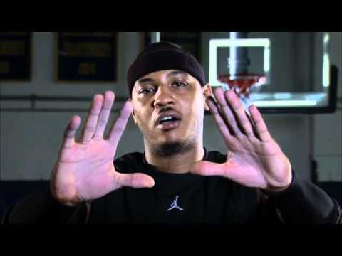 Carmelo Anthony Announces Mission Power Grip™ видео