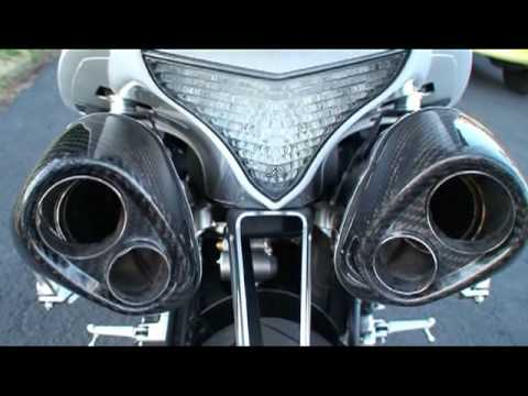 YAMAHA R1 with a MONSTER YOSHIMURA Exhaust - Start-Up & Revving