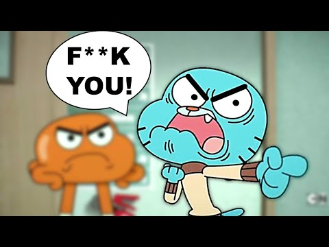 5 Kid Cartoon Shows Who Have Sworn on Accident! Part 7 ( Gumball, The Loud House, Teen Titans Go!)