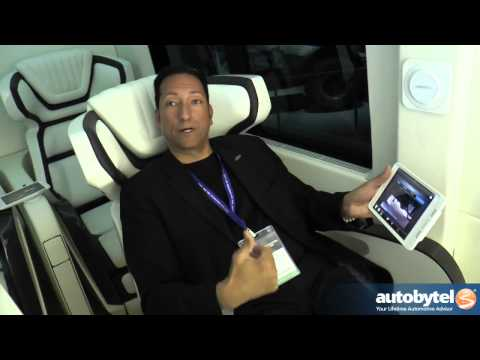 Ford Skyliner VIP Van Walkaround At The 2014 New York Auto Show