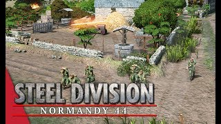 Enjoyed the video? Here's some more! ► https://goo.gl/vHwUWjSteel Division: Normandy 44 Playlist! ► https://goo.gl/uuBRTmYou can now support the channel on Patreon! ► https://www.patreon.com/vulcanhdgaming-----------------------------------------------------------Underestimating The Enemy! Steel Division: Normandy 44 Gameplay (Odon, 3v3)-----------------------------------------------------------Hey guys,In this one I have what I thought was an easy game and then it suddenly became a lot harder once I met enemy troops.Deck Used: 716th InfantryDeck Code: Hh+PMpAhjsGQQZEjkFGQEo5hkHGOUZFxjjKSIZHRj7OPIZEBj6GRMZFRkUGQoZFijtGOspCRj8GOcY+RkOGOIQ==Contact Me!Twitch: http://www.twitch.tv/vulcanhdgamingTwitter: https://twitter.com/vulcanhdgamingFacebook: https://www.facebook.com/vulcanhdgamingSteam: http://steamcommunity.com/groups/vulcanhdgamingPatreon: https://www.patreon.com/vulcanhdgamingPlayer.me: https://player.me/vulcanhdgamingMusic used: End Game by Per Kiilstoftehttps://machinimasound.com/music/end-gameLicensed under Creative Commons Attribution 4.0 International(http://creativecommons.org/licenses/by/4.0/)