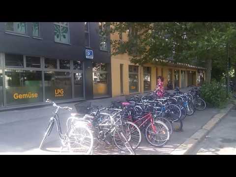 Berlin - Fahrt in der Kollwitzstrasse Teil 1 - Juli 2017