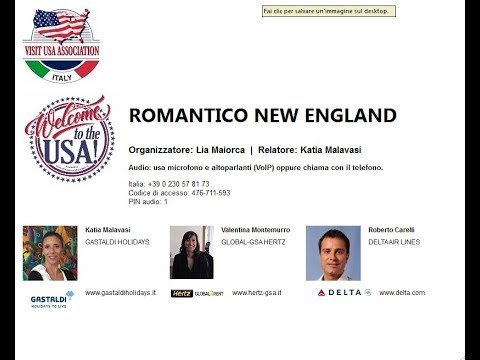 Video ROMANTICO NEW ENGLAND (26-10-2017)