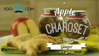 Passover Ideas - Apple Charoset with Ginger