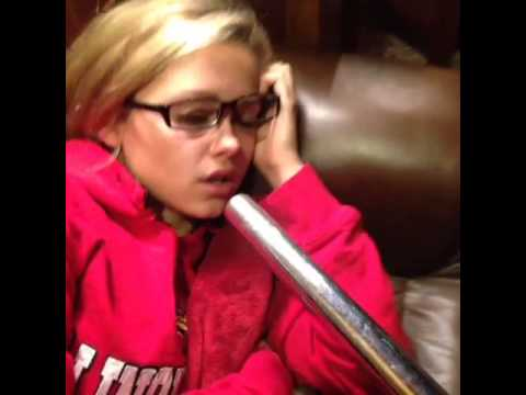 Girl Gets Face Sucked Into Vacuum Suction