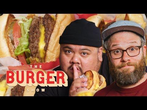 Seth Rogen Taste-Tests Secret Fast-Food Burgers | The Burger Show