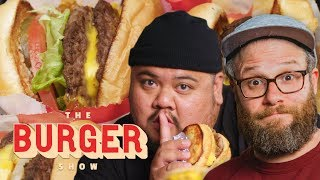 Seth Rogen Taste-Tests Secret Fast-Food Burgers | The Burger Show