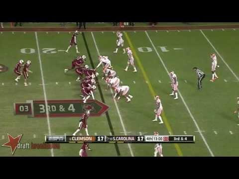 Vic Beasley vs South Carolina 2013 video.