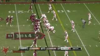 Vic Beasley vs South Carolina (2013)
