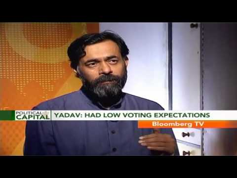 yogendra - Political Analyst and AAP Senior Leader Yogendra Yadav wants to use AAP's success in Delhi as a symbol for the rest of the country.