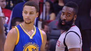 Stephen Curry vs James Harden MVP Duel 2015.10.30 GSW at HOU - Curry owns it!!!