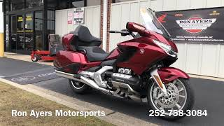 10. 2018 Honda Gold Wing Tour Automatic DCT