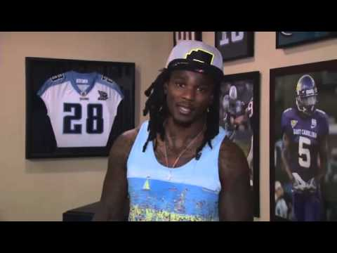 Chris Johnson - We see a lot of the Titans on the field, but tonight FOX17 Entertainment Reporter Stacy McCloud gives you an EXCLUSIVE look inside the life of Chris Johnson ...