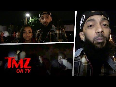 Huge Brawl Breaks Out Involving Rapper Nipsey Hussle | TMZ TV