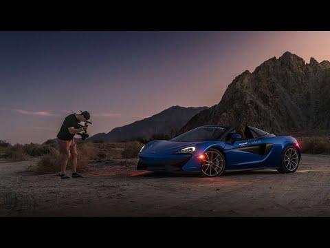 Taking a $200k Supercar Off-road [McLaren 570s] (видео)